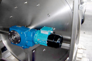 Tank cleaning Hose Reel System - gearbox drive